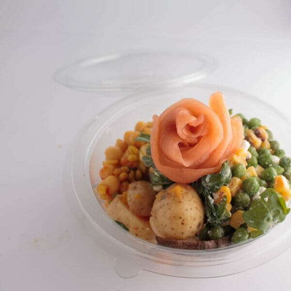 Vegetarian and Fish Side Salad Box