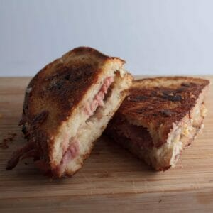 Grilled Cheese and Roast Ham