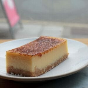 Lemon Brulee Shortbread Tart